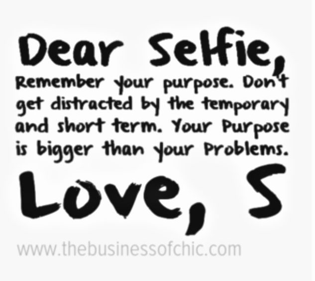 Dear Selfie quote