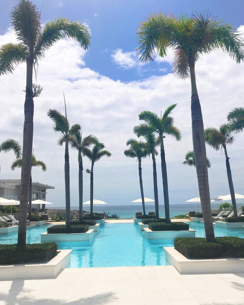 aleta pool, four seasons anguilla, the business of chic, staycation